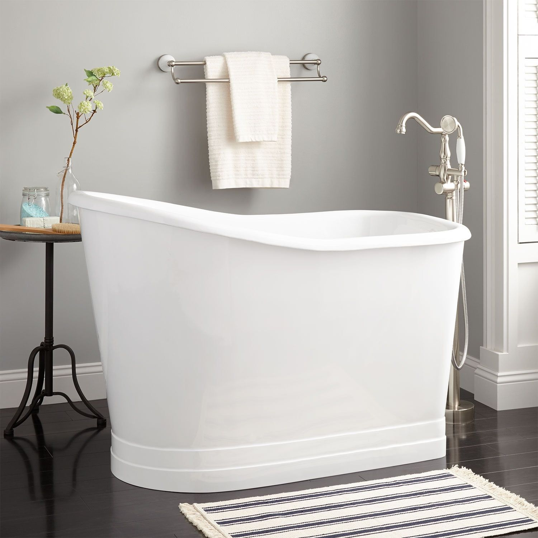 55 Emeigh Acrylic Freestanding Tub Japanese Soaking Tubs