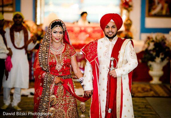 Ceremony In Sacramento Ca Sikh Wedding By Dawid Bilski Photography