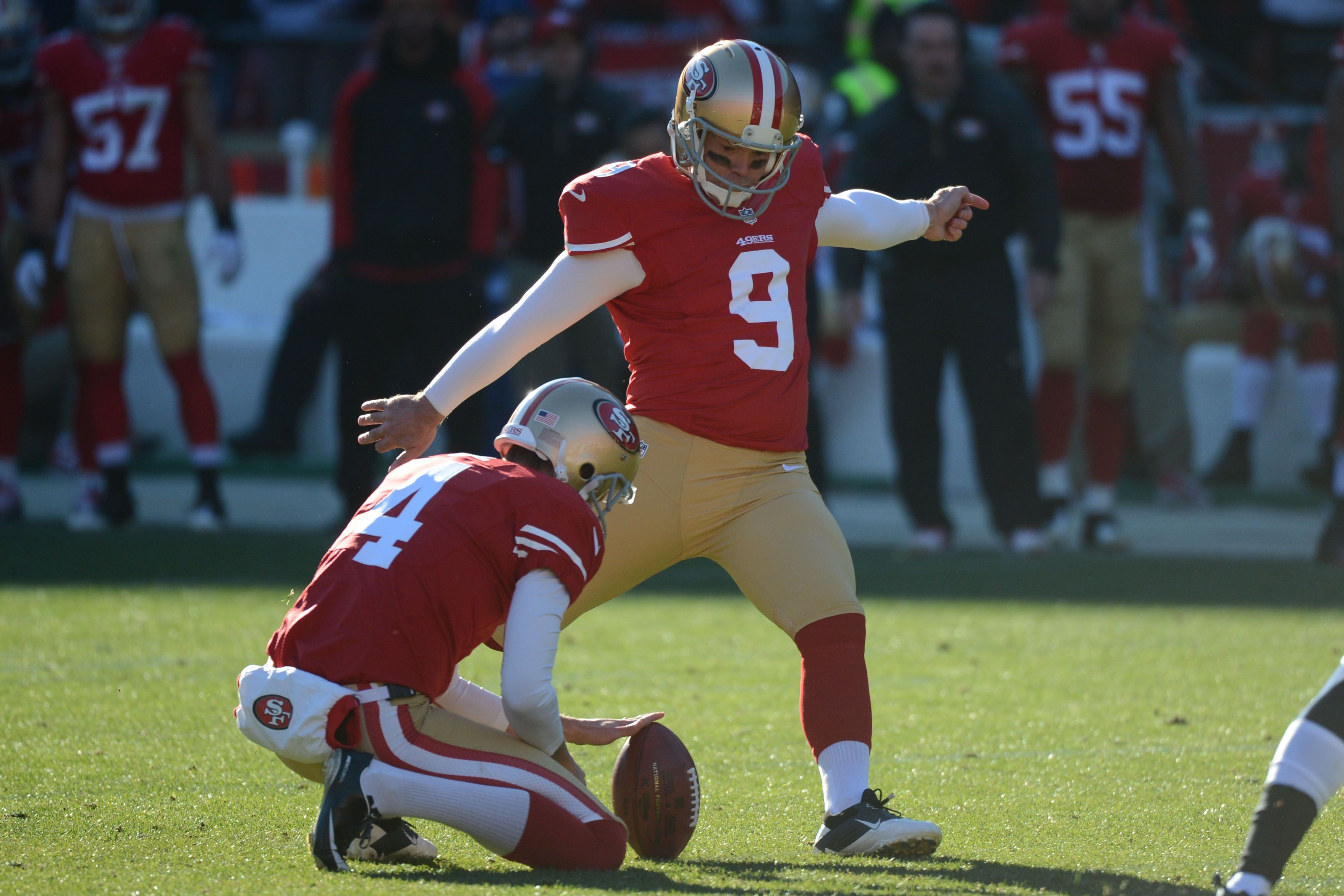 Phil Dawson Sf Kicker Phil Dawson 49ers Fans