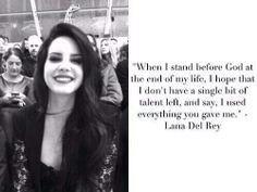 Give everything. I love Lana.