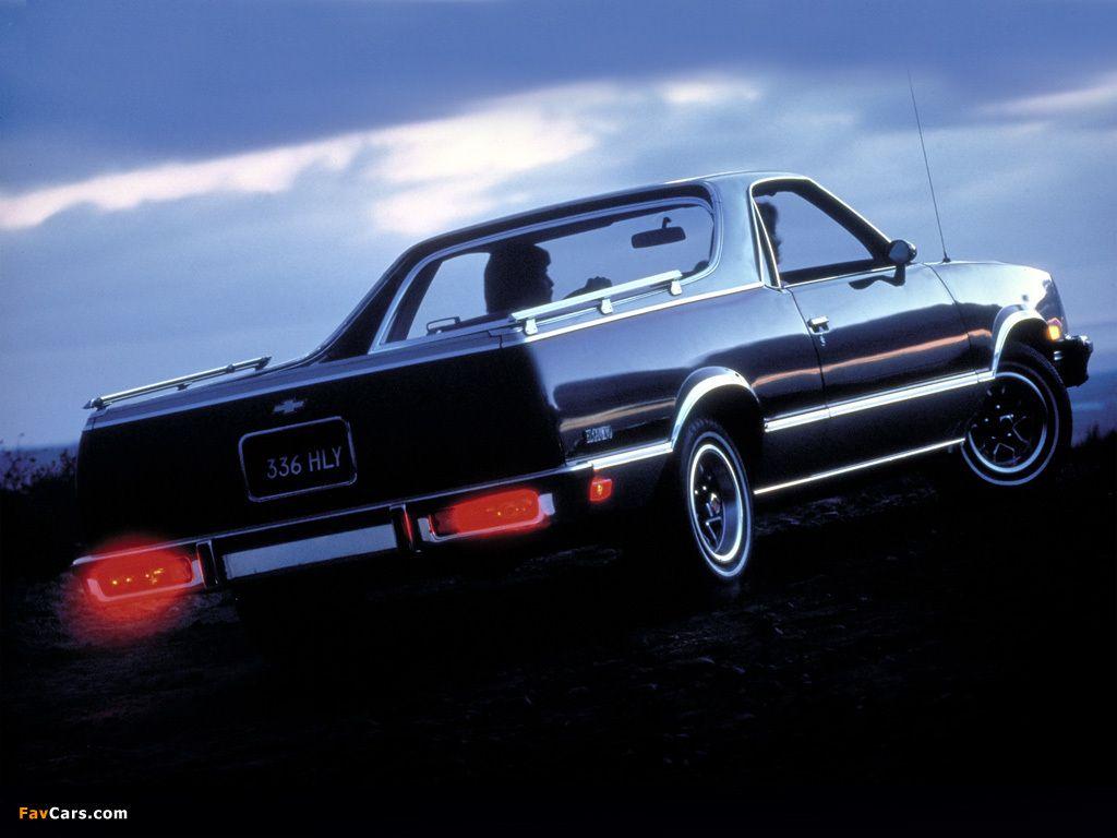 Chevrolet El Camino Conquista 1982 87 Photos 1024x768