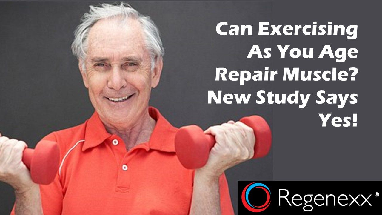Exercise as You Age: Your Muscles Will Thank You! - Regenexx®