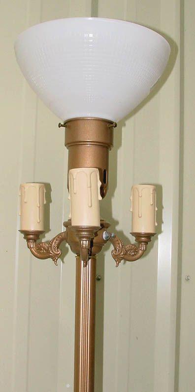 Rare Antique Floor Lamps | Chain Floor Lamp Antique Lamp Parts Center Mogul  Floor Lamp