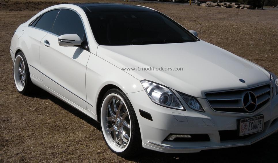 Modified 2010 Mercedes Benz E Class E350 Coupe With Asanti Rims