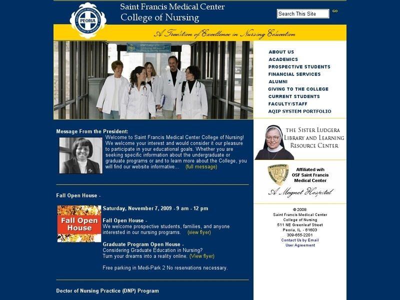 Osf College Of Nursing >> St Francis Medical Center College Of Nursing Illinois