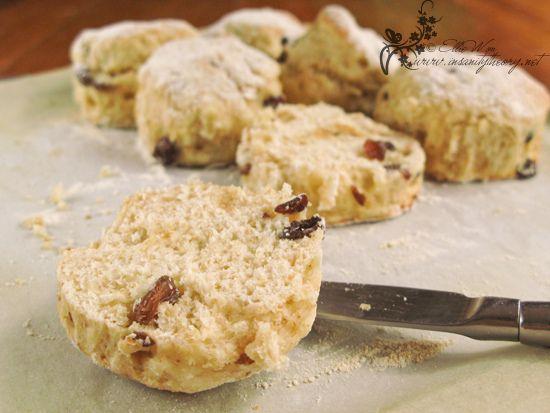Fluffy Buttermilk Sultana Scones Scones Baking Food