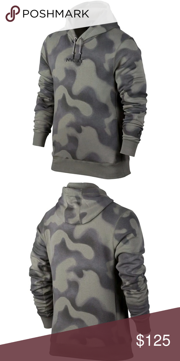 e4f8d7f8ae67 RARE UPSIDE DOWN JORDAN CAMO PULLOVER HOODIE The Jordan Sportswear P51  Flight Men s Fleece Pullover Hoodie