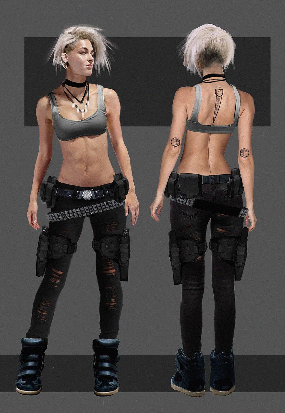 Nadja - Character Concept, Fabio Cacciola