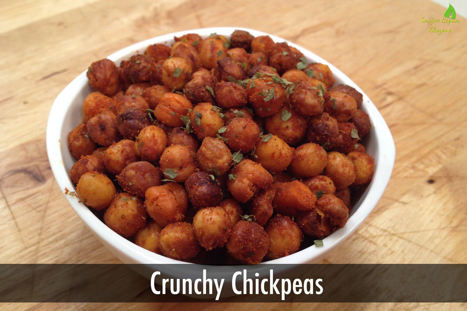 Crunchy chickpeas sanjeev kapoor khazana youtube food food crunchy chickpeas sanjeev kapoor forumfinder Gallery