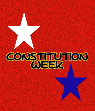 FREE printable for Constitution week