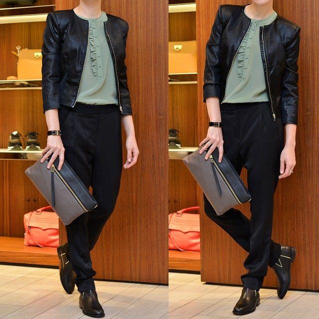 кожаные куртки elizabeth franchi