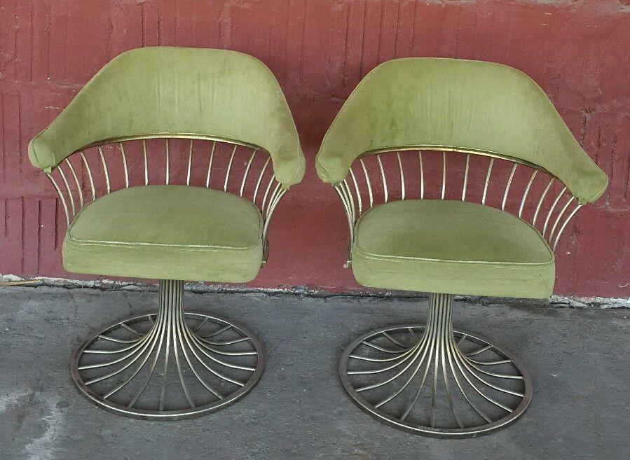 knoll swivel tulip chair