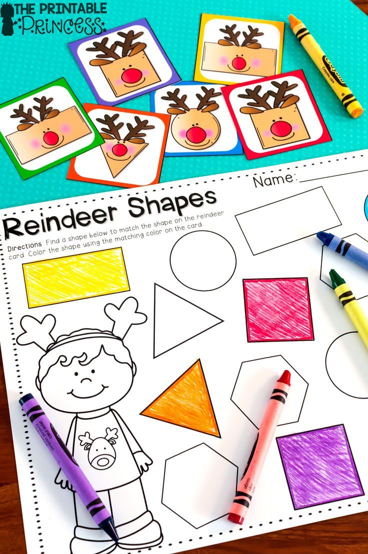 Christmas Literacy and Math Activities for Kindergarten   Pinterest ...