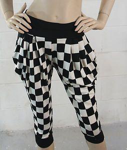 Women's Sexy Stretch Capri Casual Leggings Cropped Loose Harem Pants Slim Soft Starting @ $9.26