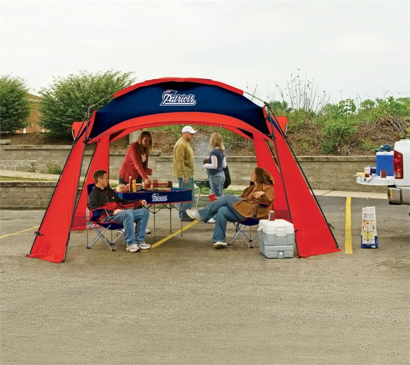 New England Patriots Tailgate Party Combo 12x12 Tailgate Tent Dome 2 Chairs and Table. Perfect & New England Patriots Tailgate Party Combo 12x12 Tailgate Tent Dome ...