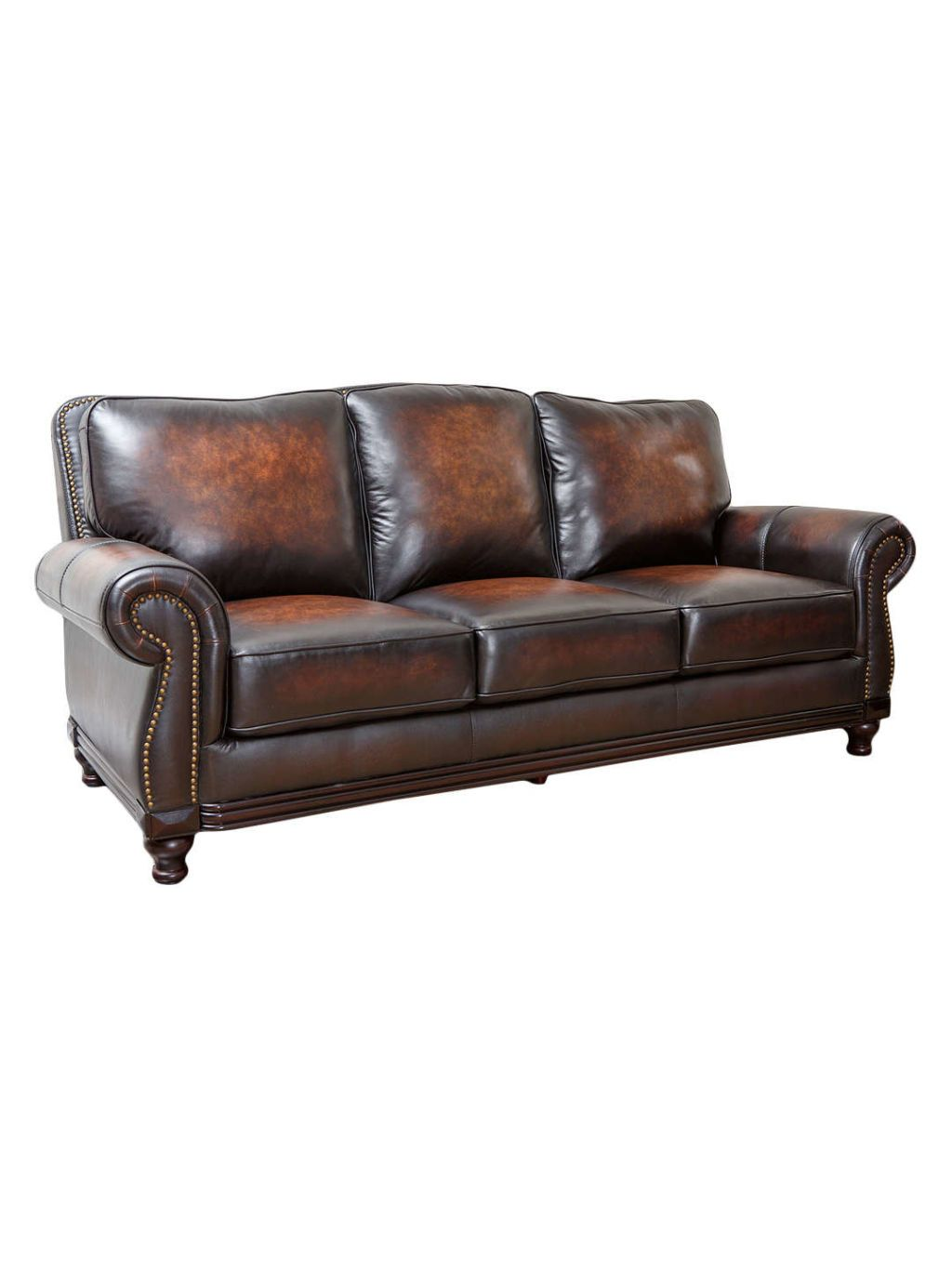 Your Den Isn T Complete Without This Comfy Furniture Piece Genuine Leather Sofa Abbyson Living Leather Sofa