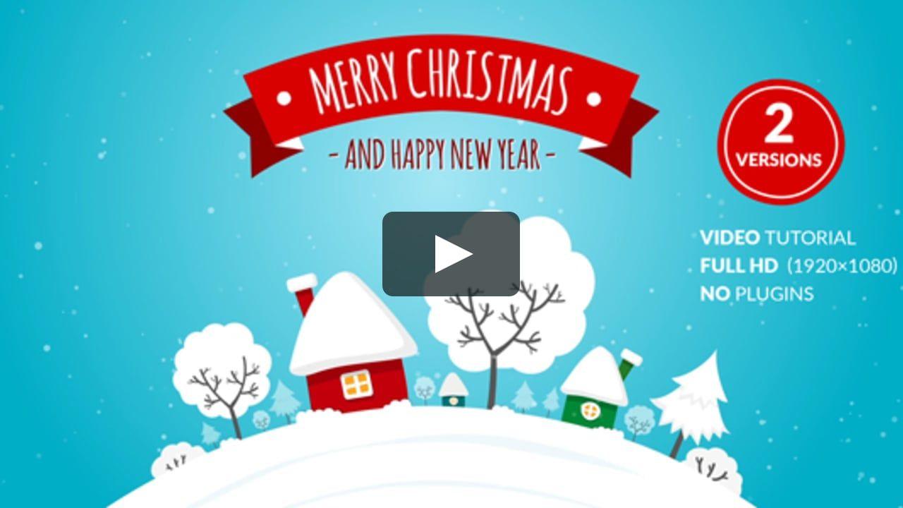 Motiongraphic Animation Card Celebrations Christmas Christmas
