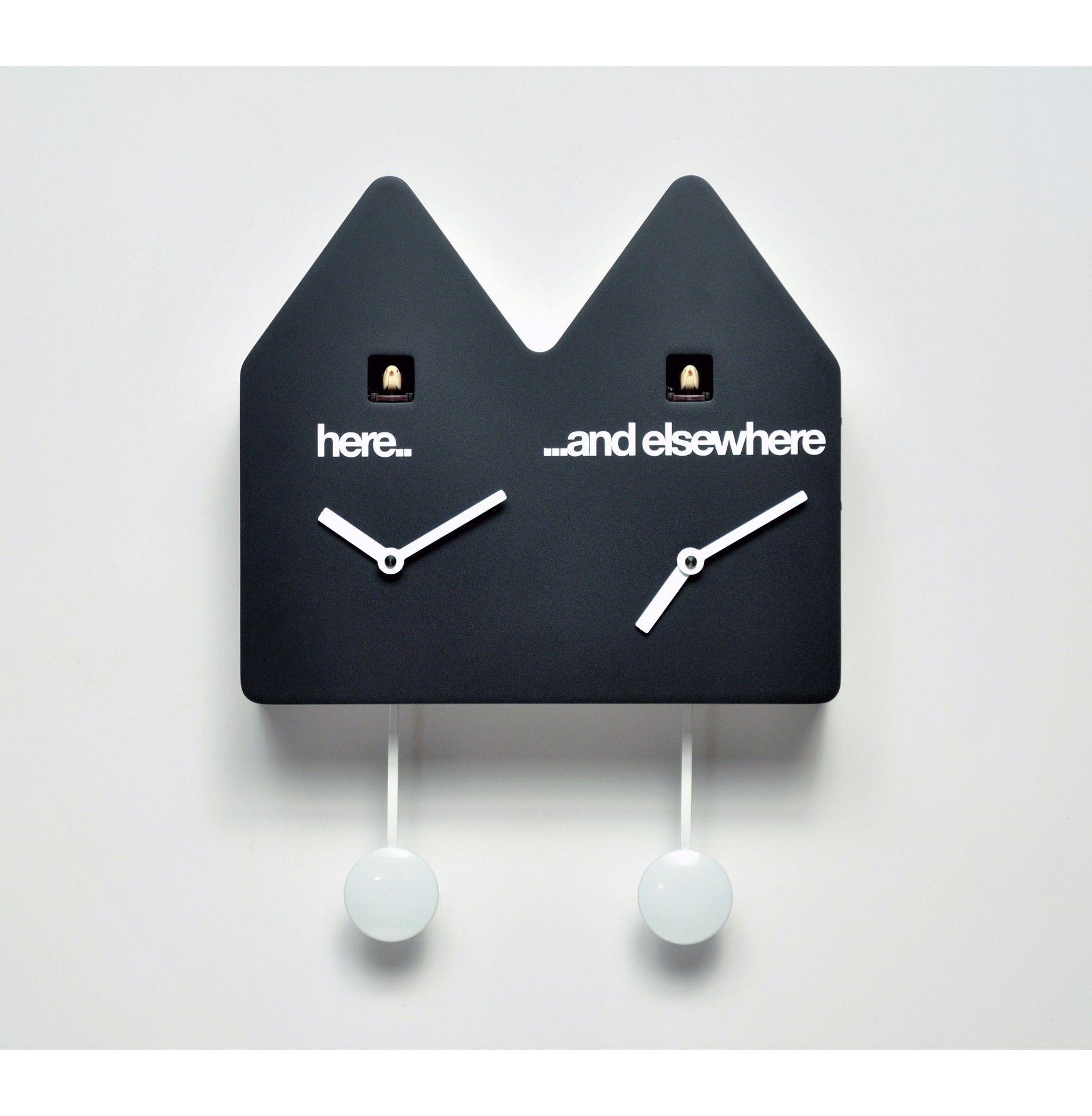 modern cuckoo clock interior design decor  cool clocks  - modern cuckoo clock interior design decor