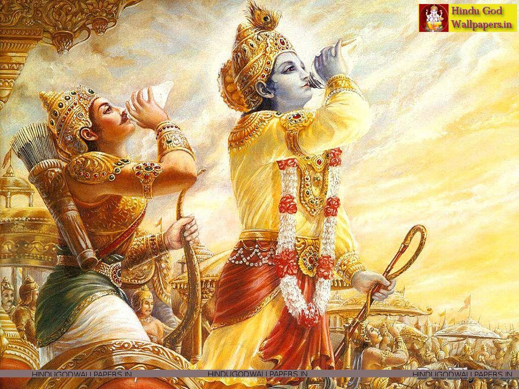 Krishna Mahabharat Wallpaper Hindu Art Krishna Wallpaper Krishna Art