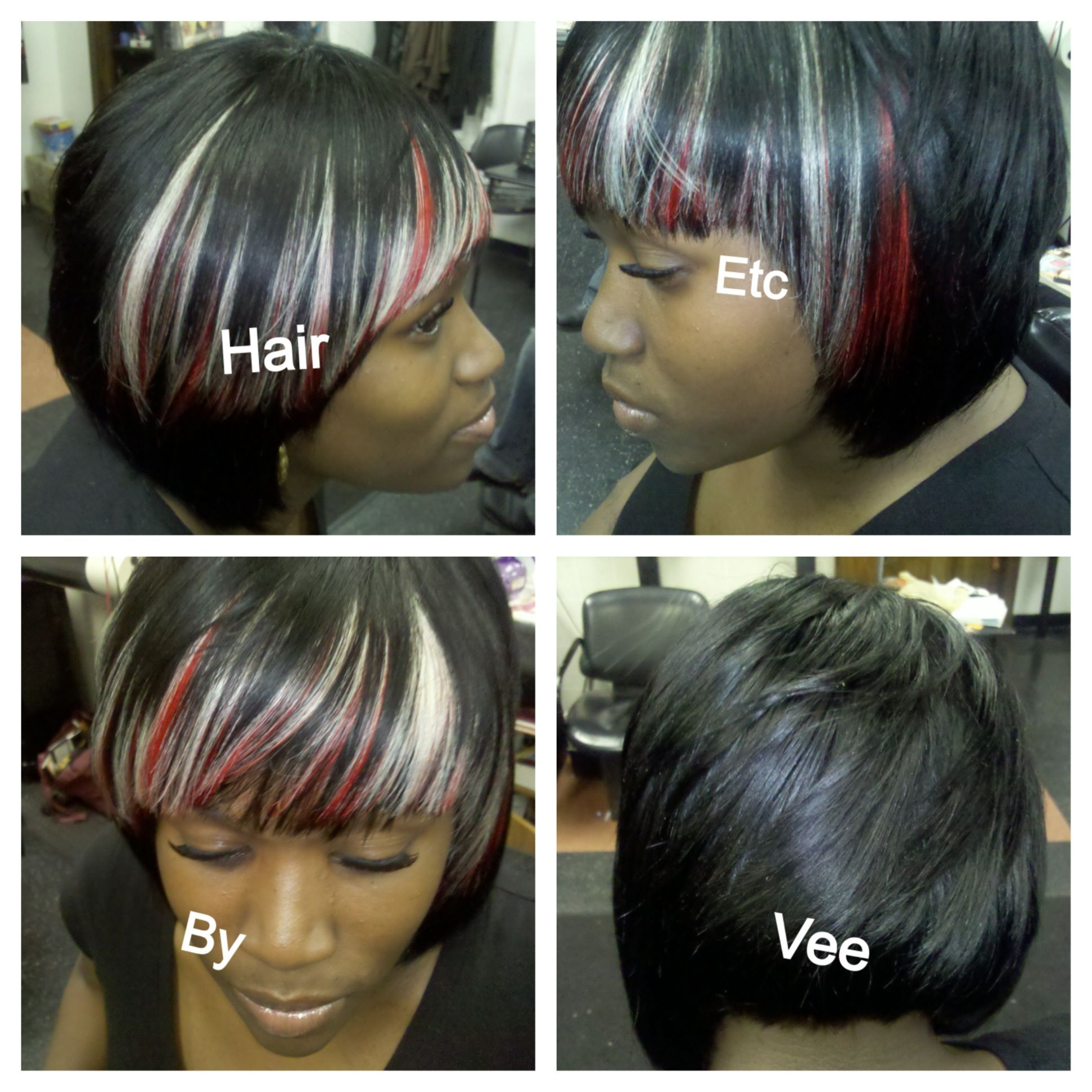 Full Quick Weave Hair Etc By Vee Hair Designs Pinterest Quick