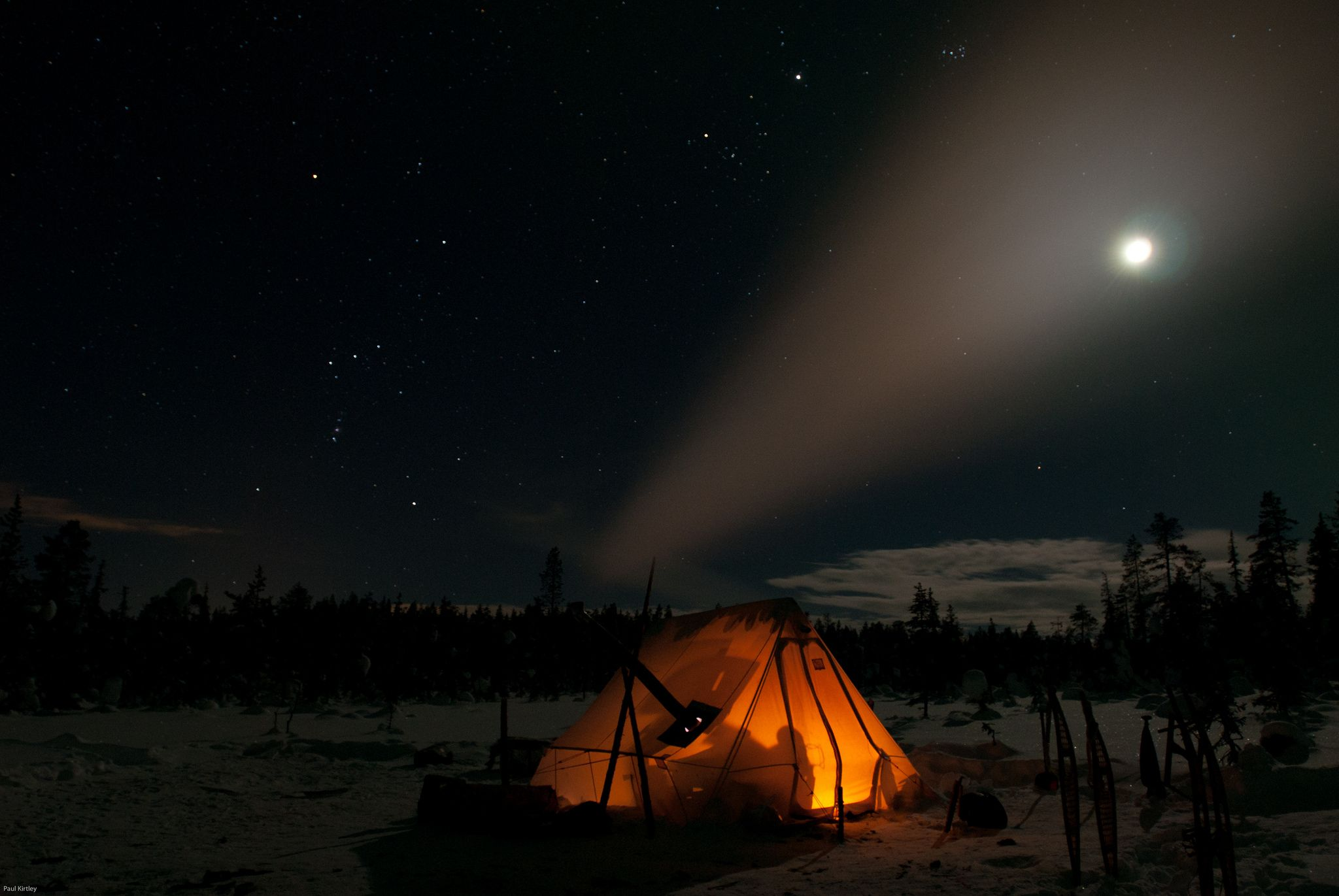 Orion and the huntersu camp bushcraft pinterest tent camping