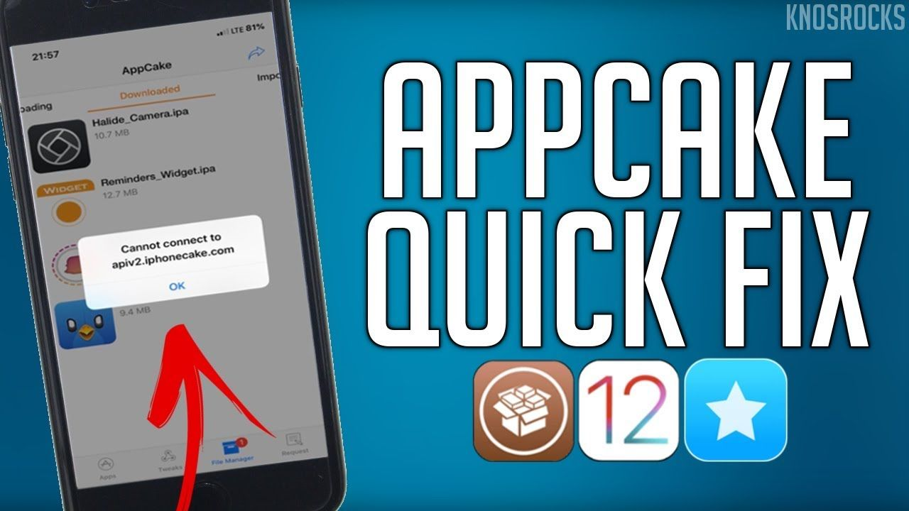 How To FIX AppCake Apps Crashing iOS 12 - 12 1 2 + Cannot