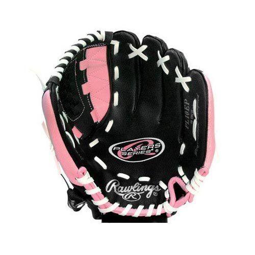 Rawlings Pl10ep Player Series 10 Youth Baseball Glove Pink Black By Rawlings 17 48 Rawlings Pl10e Youth Baseball Gloves Baseball Glove Outdoor Ball Games