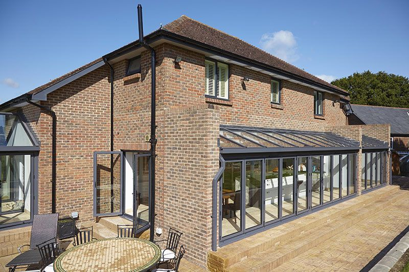 Modern Glass Extensions lean to conservatories | modern, glass lvaranean to extensions