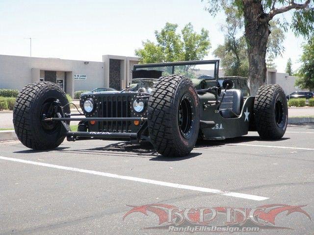 Jeep Willys Jeep Rat Rod Willys Jeep Rat Rod