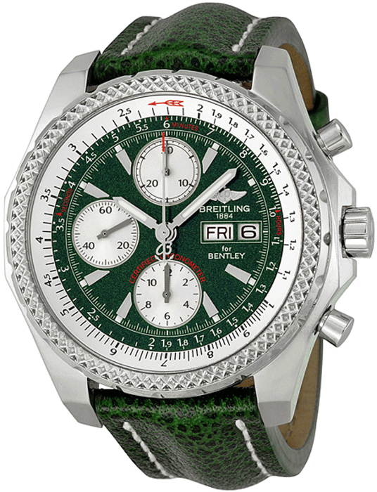 4b10e48d660 Breitling Bentley GT Automatic Green Dial