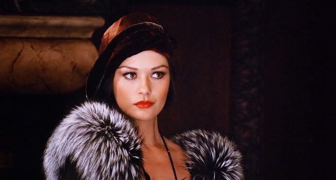 Catherina Zeta-Jones as Velma Kelly. Film: Chicago. Director: Rob Marshall.