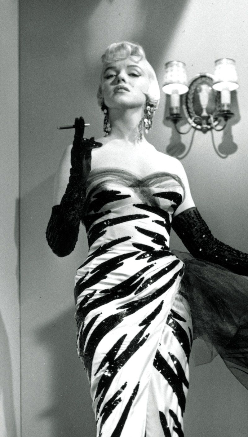 Marilyn Monroe Tiger Print Dress