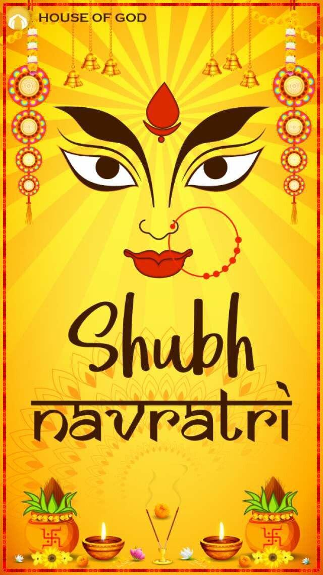 Soft board   Navratri images, Happy navratri images ...