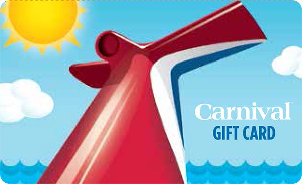 Carnival Cruise Lines gift cards at Giant Eagle -can be used for onboard account. Currently double fuel perks