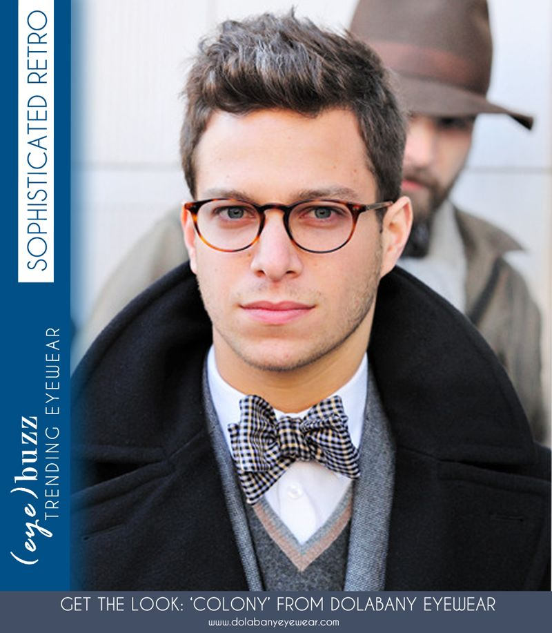 cfe0d8c1387 (eye)buzz  Match a sophisticated look with retro frames to complete a  unique style. Check out Dolabany Eyewear for the best source of retro frames .