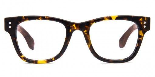 Hyperion Tortoise / Wood - Men's and Women's Prescription Glasses