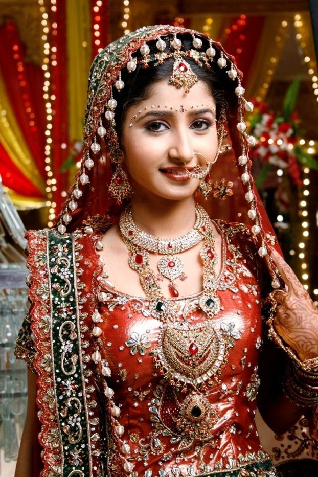 Indian Wedding Dresses Zee TV actress Sana Sheikh in