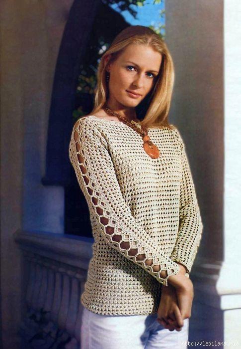 Splendido Golf Alluncinetto Croschet Crochet Knit Crochet E