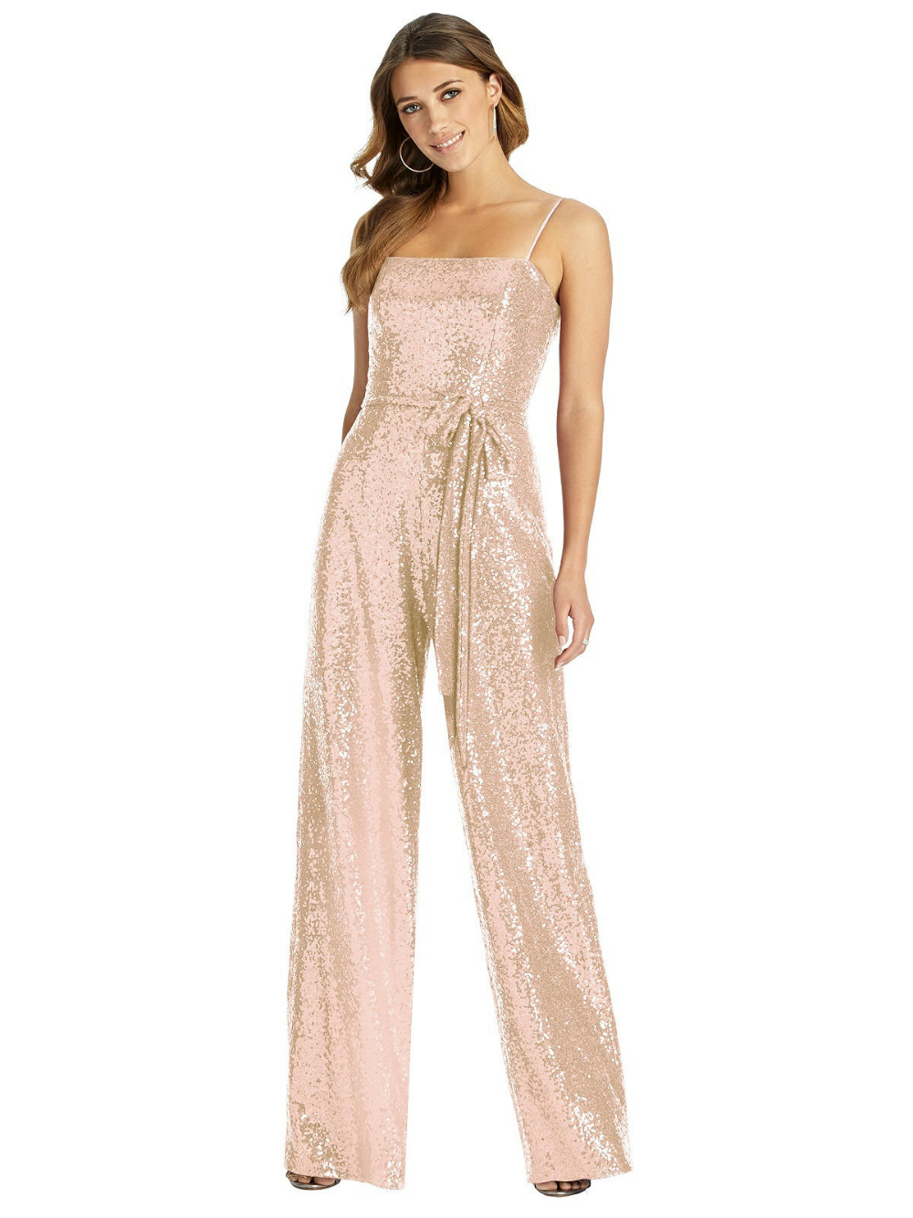 Dessy Bridesmaid Jumpsuit Alexis #bridesmaidjumpsuits