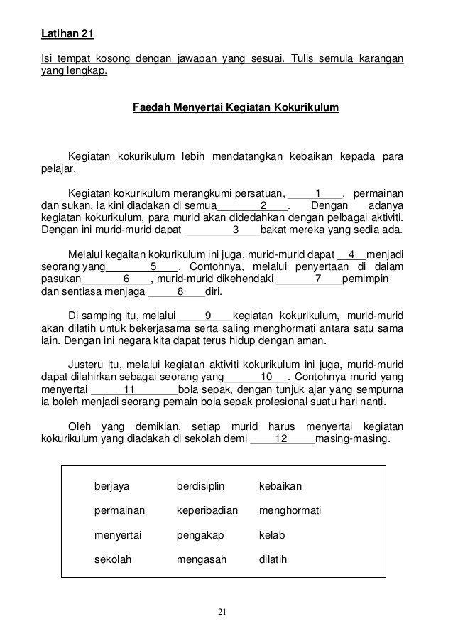 Saya Ingin Berkongsi Sedikit Banyak Maklumat Yang Berkaitan Dengan Latihan Karangan Untuk Murid Murid Galus Su Malay Language 1st Grade Worksheets English Quiz