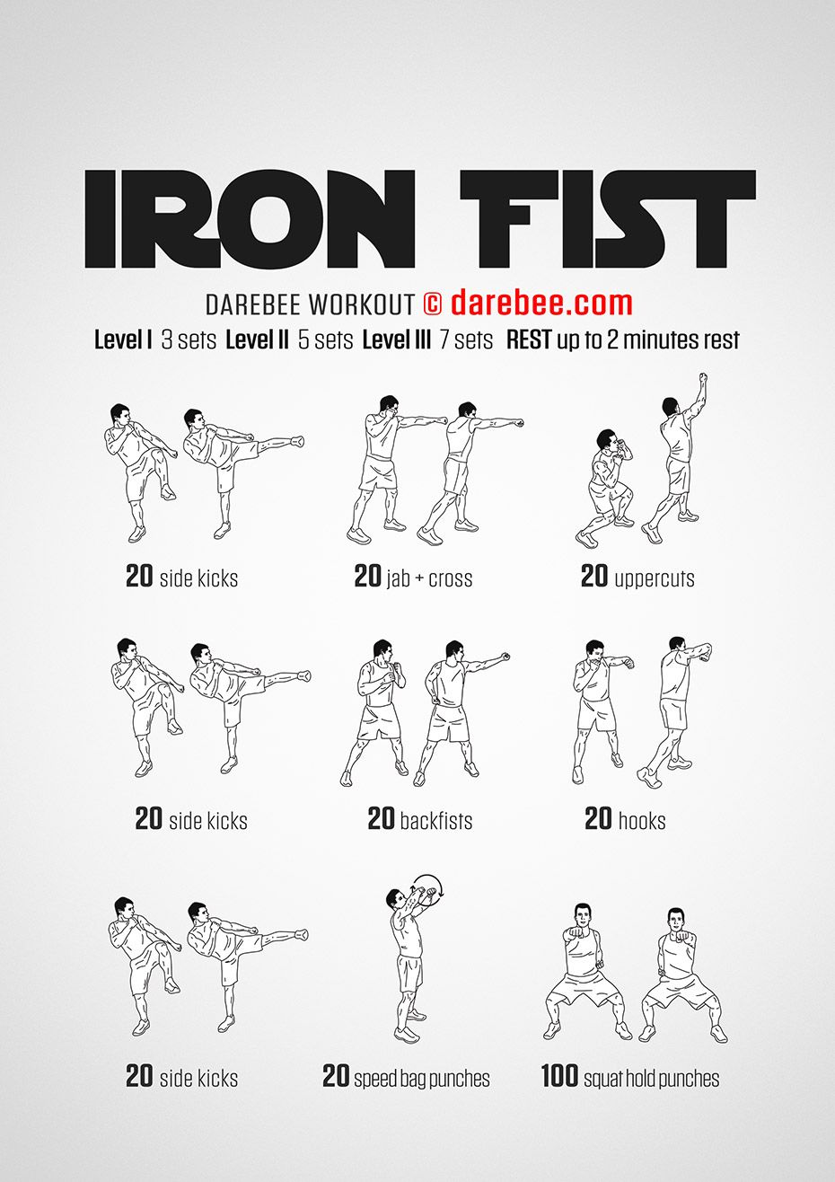 Iron fist workout sharpen up your combat skills hone your