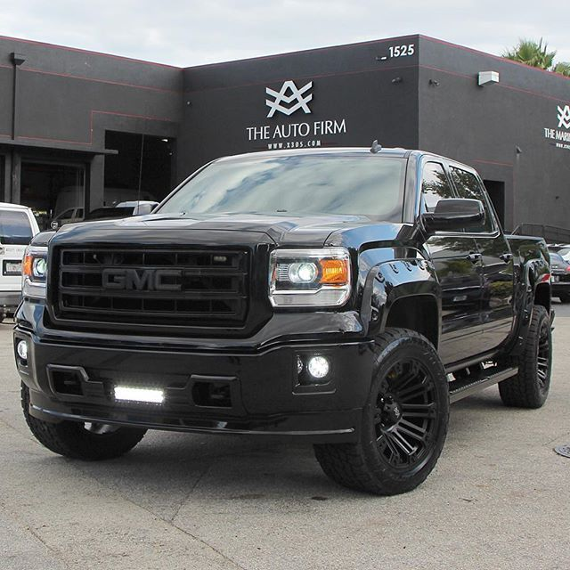 Avorza Gmc 1500 Sierra All Black Everything Available For Purchase At Our Official Avorza Chevy Dealer Lorenzo Bomnin Gmc Trucks Chevy Dealers Trucks