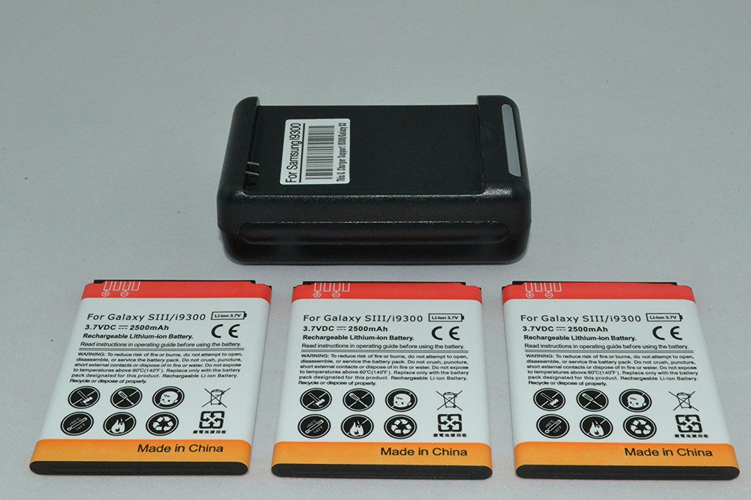 3 X 2500mah Batteries And Charger For Samsung Galaxy S3 Siii Compatible Models I9300 I535 L710 T999 I74 With Images Cell Phone Battery Samsung Galaxy Note Galaxy Note