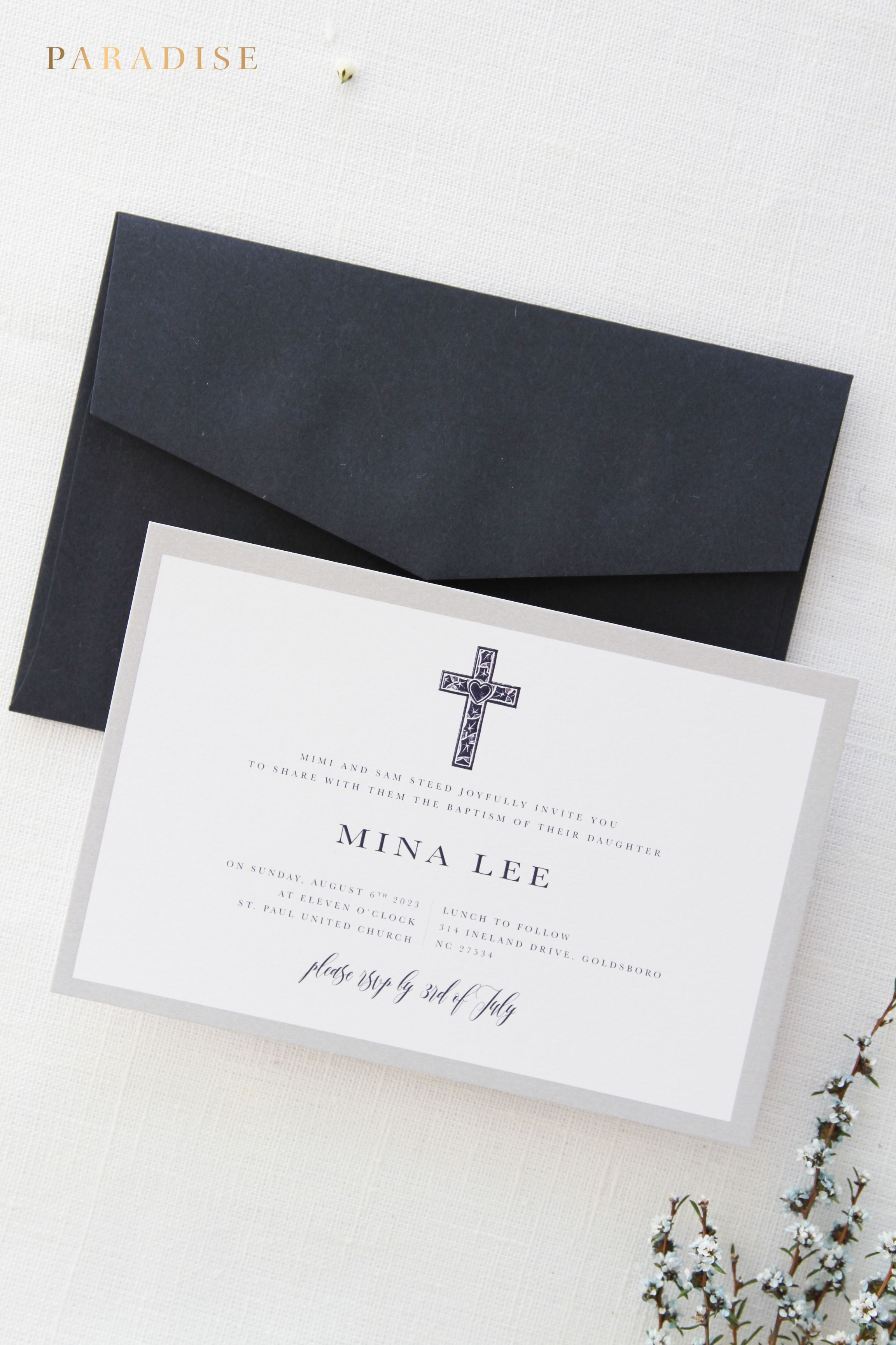diy wedding invitations kits south africa%0A Boy or Girl Baptism Invitations  Christening Invitation  Navy and Silver  Baptism Invitation  Printable
