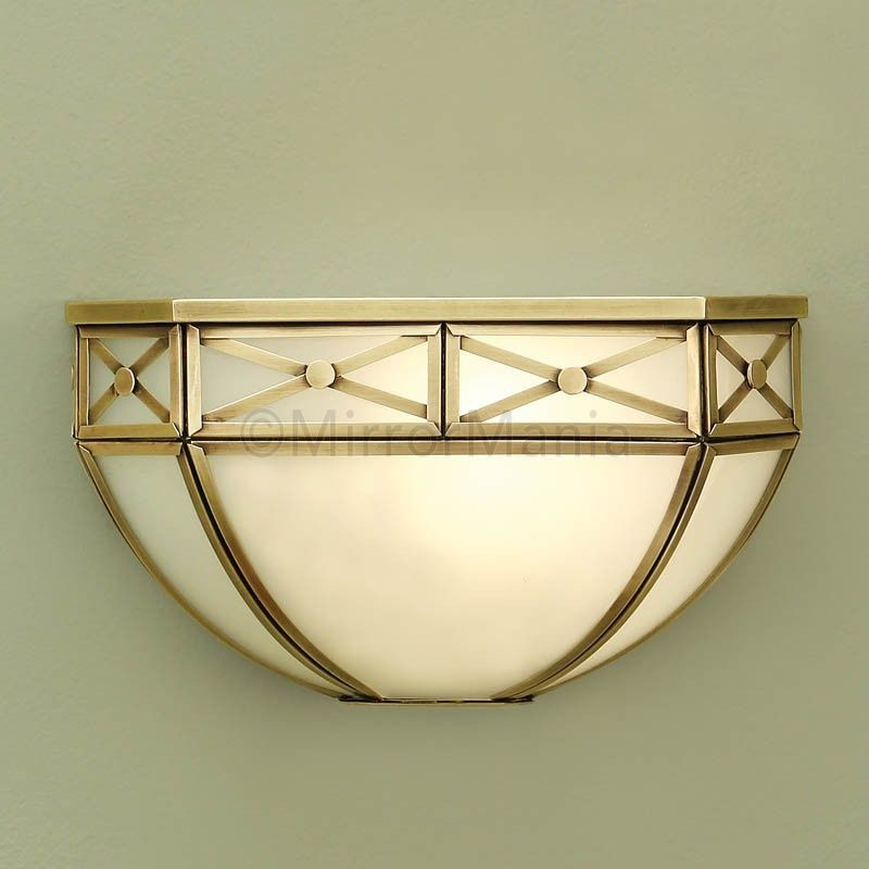 Bannerman Art Deco Wall Light - Wall Lights - Lighting - Home Decor ...