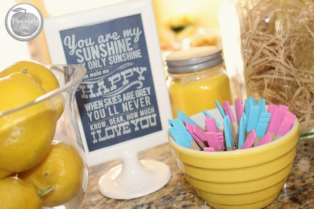 Baby Shower Ideas You Are My Sunshine ~ You are my sunshine baby shower theme ideas for food decor games