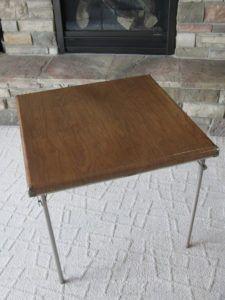 Samsonite Folding Bridge Tables