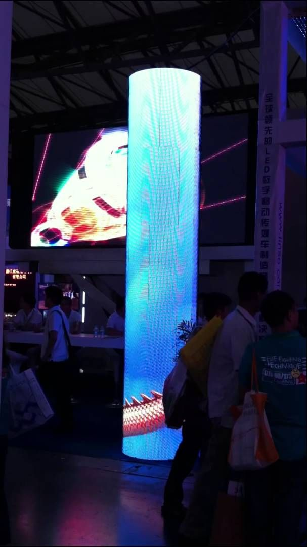 Cylindrical Led Screen Linso Led Round Screen In 2019