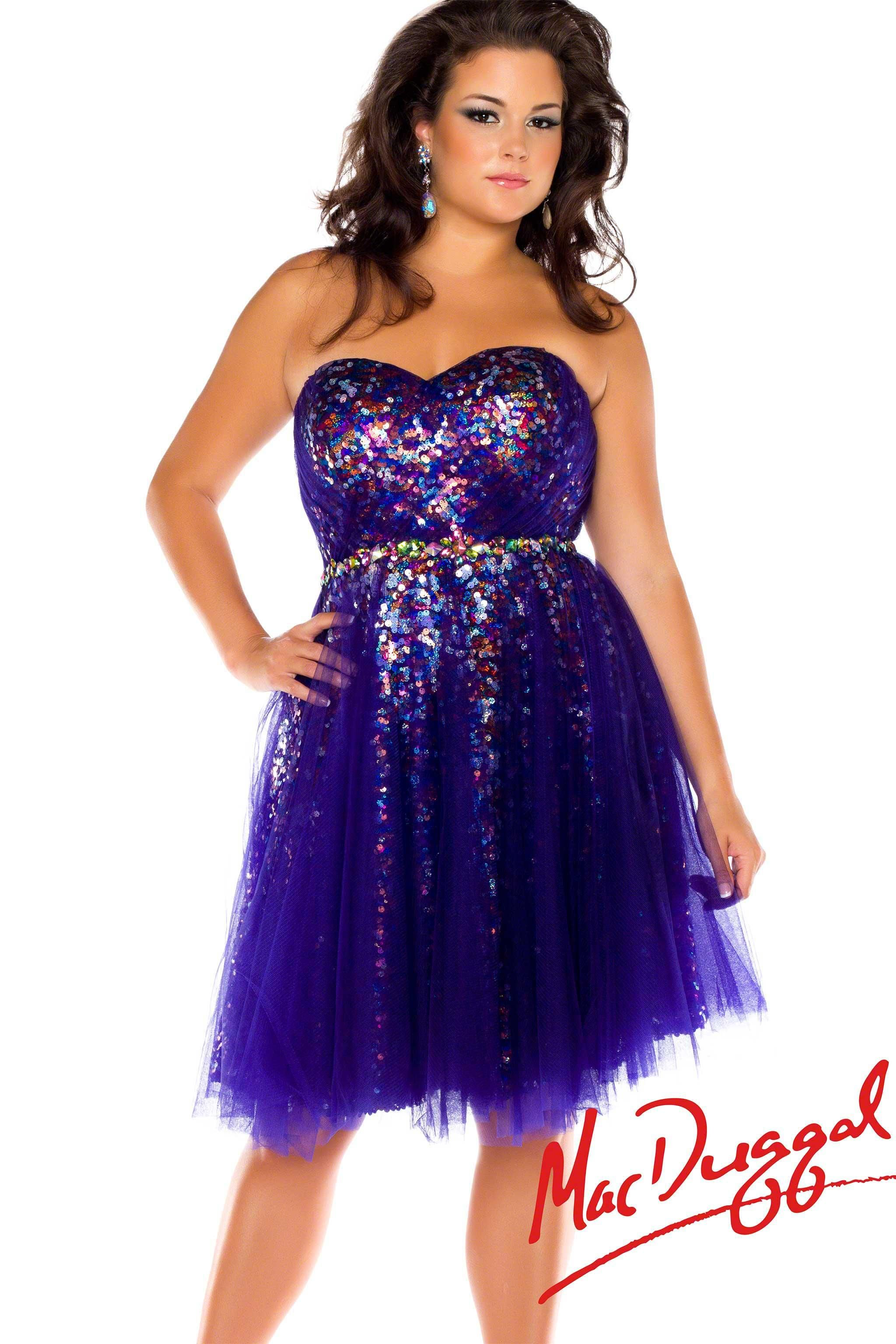 Plus Size Prom Dresses Short - Ocodea.com