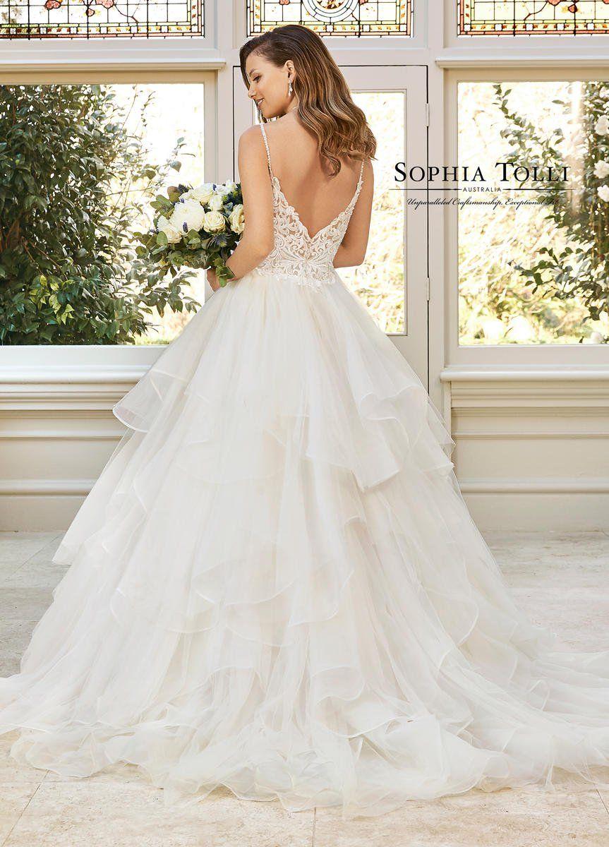 Sophia Tolli Bridal Y11952 Vip Fashion Philadelphia Pa Elegant